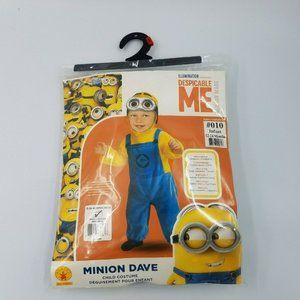 Minion Dave Costume Size 12 – 24 Months